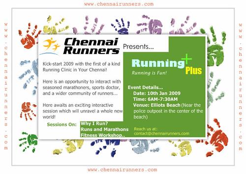 Chennai Runners Running Clinic