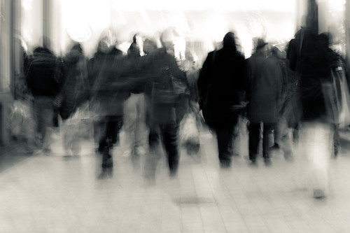 Recherche personne croise dans la rue