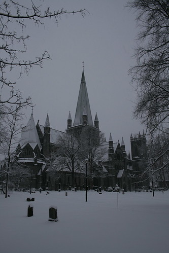 Dom im Winter