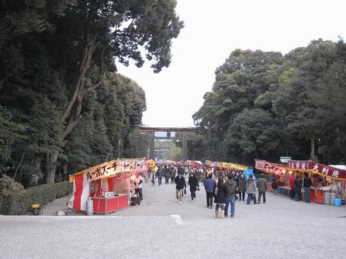 橿原神宮への初詣-06