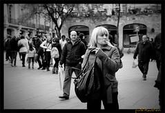 Street Photography, Plaza Cataluña, Barcelona, Cataluña, España