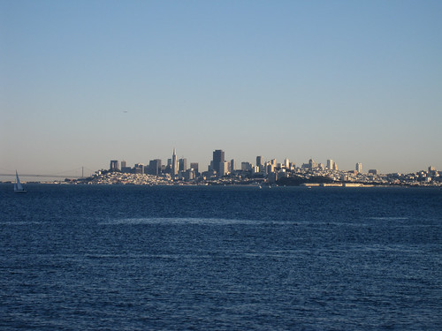 SF view from Sausalito