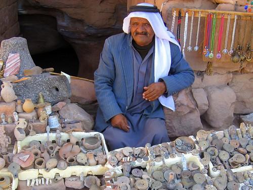 An Old Folk at Petra, Jordan.