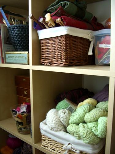 yarn cubbies