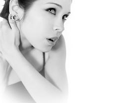 Rachel (noamgalai) Tags: portrait bw woman girl beautiful beauty face studio photo model picture photograph   krystals  noamg noamgalai   racheldashae newyorkphotofantasyshootoff