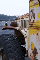 Monster school bus (Dave* Seven One) Tags: vintage 4x4 rusty schoolbus monstertruck