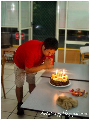 Nigel's 27th Birthday