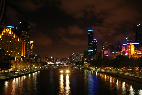 The Yarra by night, 1