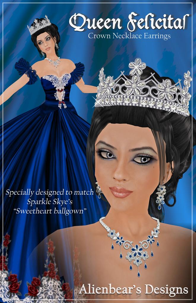 Queen Felicitas Poster