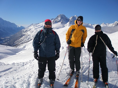 Jay, Michael and John, on Balme