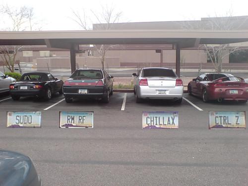 Nerd License Plates