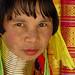 Karen tribal weaver, Thailand