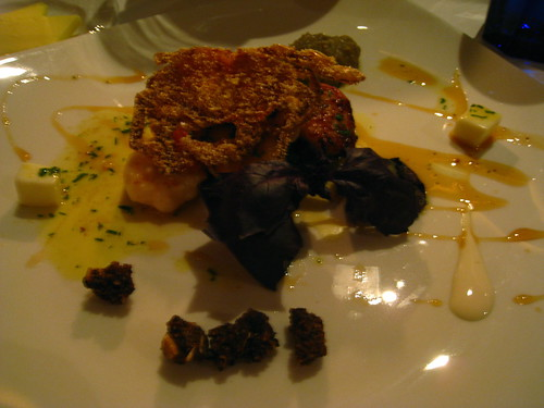 Pan-Seared Seafood with Milk Jelly, Yoghurt, Toasted Spices & Curry Leaf Reduction