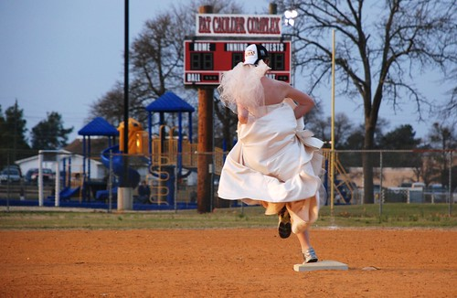 Baseball bride