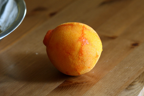 Dutch Baby with Orange Sugar
