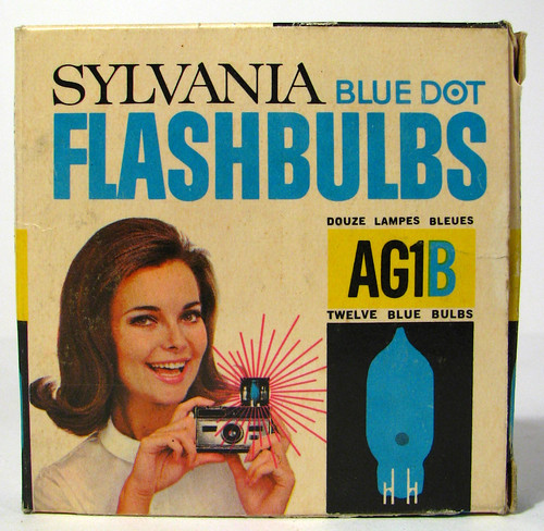 Silvania Flashbulbs 1960