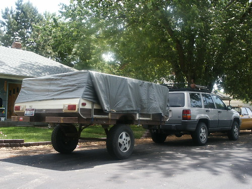 Who Has Lifted A Pop Up Tent Trailer Page 2 Jeepforum Com