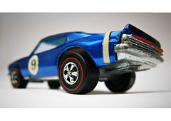 Number 9 (alpine64andy) Tags: macro hotwheels musclecar diecast plymouthbarracuda spectraflame hotwheelsredline kingcuda vintagehotwheels originalhotwheels hotwheelsspoilers hotwheelskingcuda hotwheelsspectraflame