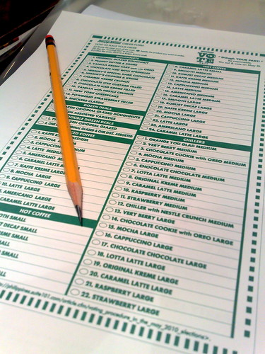 Krispy Kreme Vote