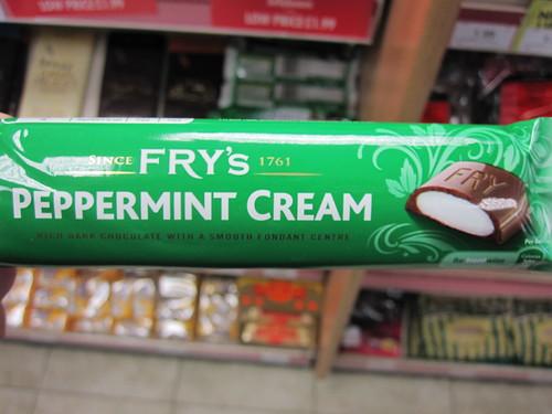 Fry's Pepermint Cream
