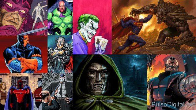 Los 10 villanos más hijos de la chingada en los comics