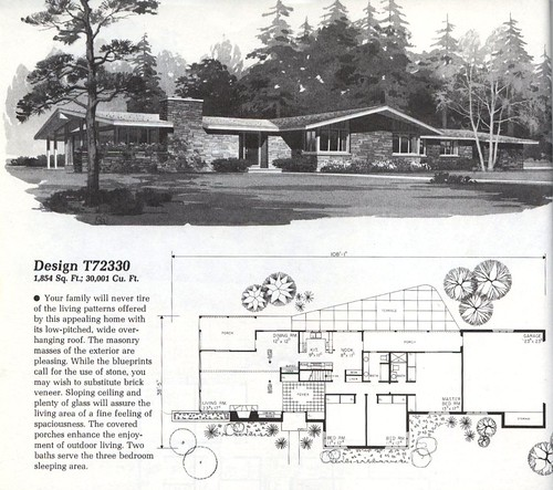 Home Planners Design T72330