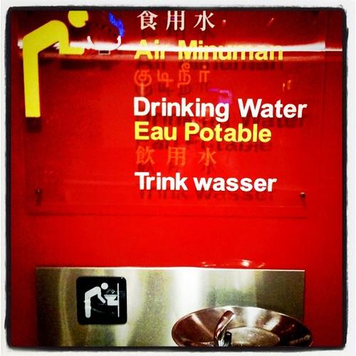 Singapour eau potable