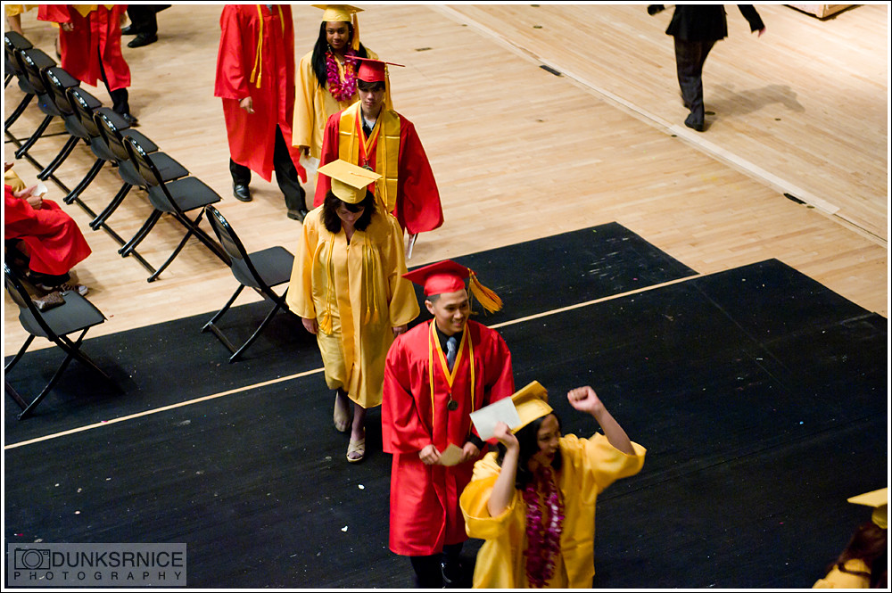 De Anza High School Graduation 2011.