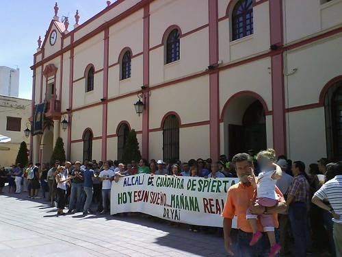 15M en pleno Ayto. Alcalá de Guadaíra 1