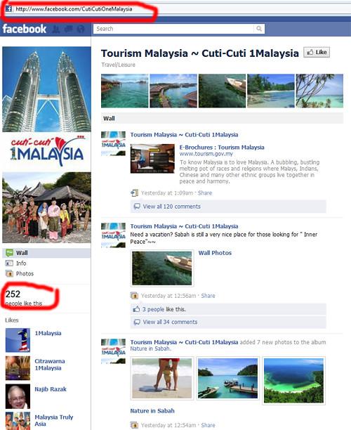 Fake CutiCutiOneMalaysia Facebook Page