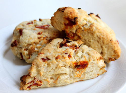 Sun-dried Tomato Feta Scones