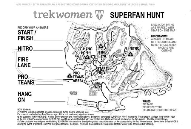 WORS WOMEN SUPERFAN HUNT, presented by Trek Women