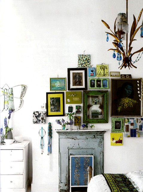 Apartment of Liza Giles, senior stylist for Designers Guild London
