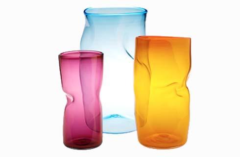 slump vases