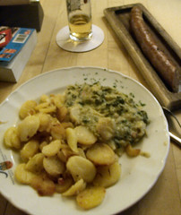 Bratwurst + Potatoes