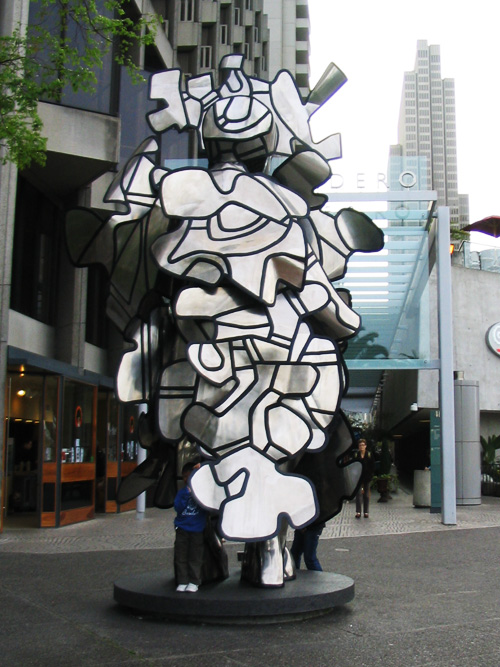 La Chiffonniere by Dubuffet at the Embarcadero Plaza