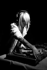 Amanda Rude 3 (grahamcase) Tags: girl dj hardlight strobist nikonsb28 amandarude