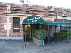 The rear entrance to Musso & Frank Grill. (02/27/2008)