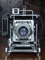 "Speed Graphic 4x5"" Range Finder (rjseg1) Tags: camera speed graphic rangefinder 4x5 press graflex segal pacemaker kalart pentaxk10d"