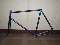NAGASAWA (Blue) 560mm (pommes king) Tags: bike vintage track king pommes fixed fixie pista darmstadt keirin stijn sugino njs nagasawa deferm
