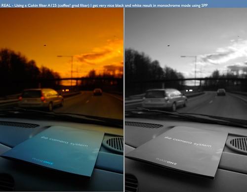 Cokin color filter test. Dp1.