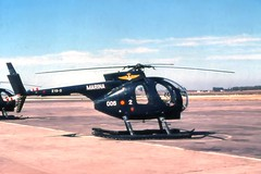 Hughes 500 ASW de la 6ª esdlla.