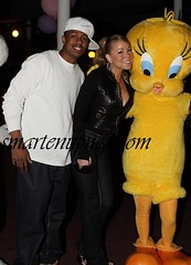 mariah & nick cannon six flags