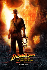 Indiana Jones - Crystal Skull Poster (suzieaim) Tags: summer poster movies 2008 indianajones blockbuster crystalskull