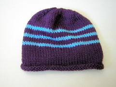 Stripey a4A hat #2