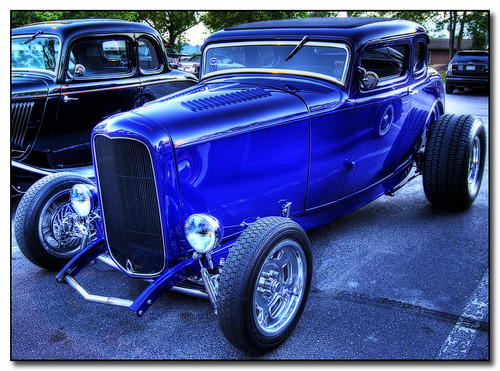 Hot Rod Blue!