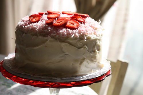 Southern Style Strawberry Cake