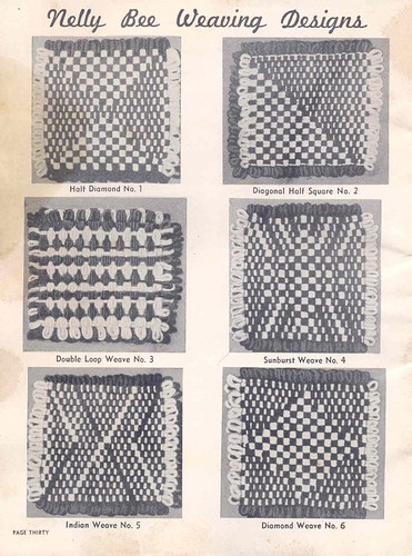Loom weaving designs