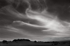 wispy (jones-y-gog) Tags: bw clouds yorkshire wispy cirrus highaltitude yeadon