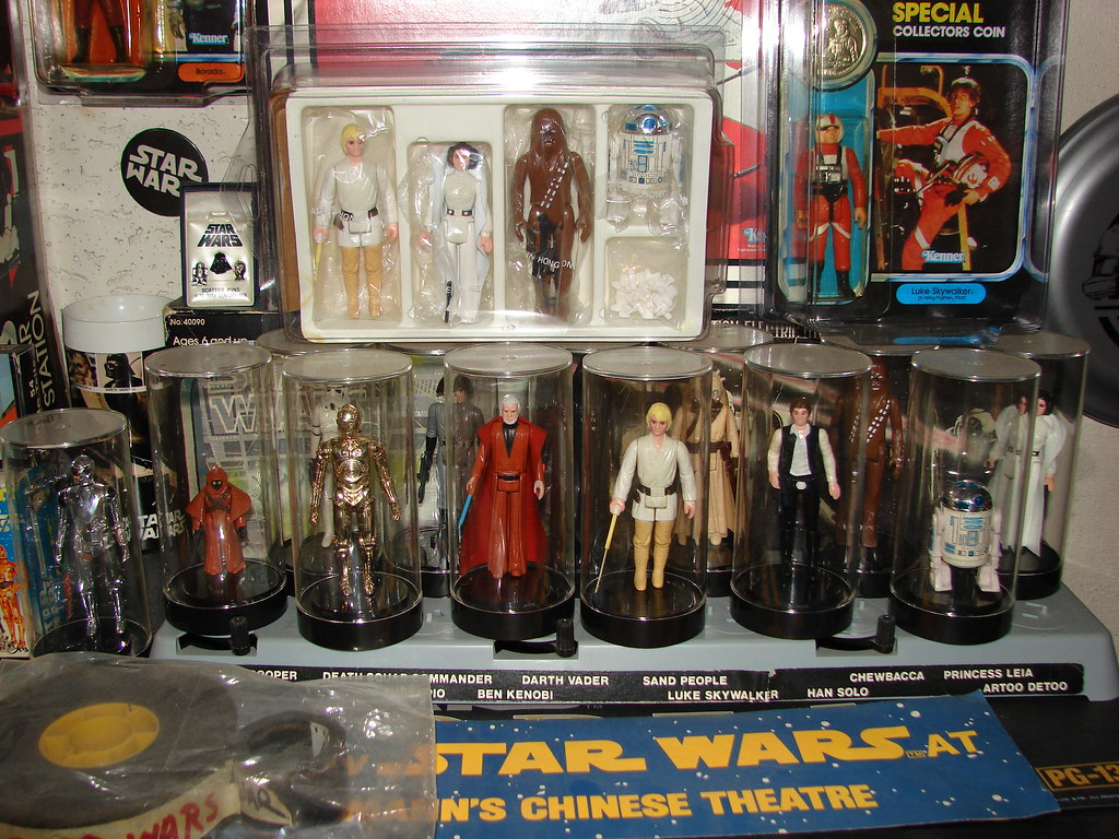 My Vintage Star Wars Kenner 1977-1984 Toy Collection, Early Bird Mail In Kit, Vinyl Cape Jawa, Double Telescoping Lightsaber Luke...